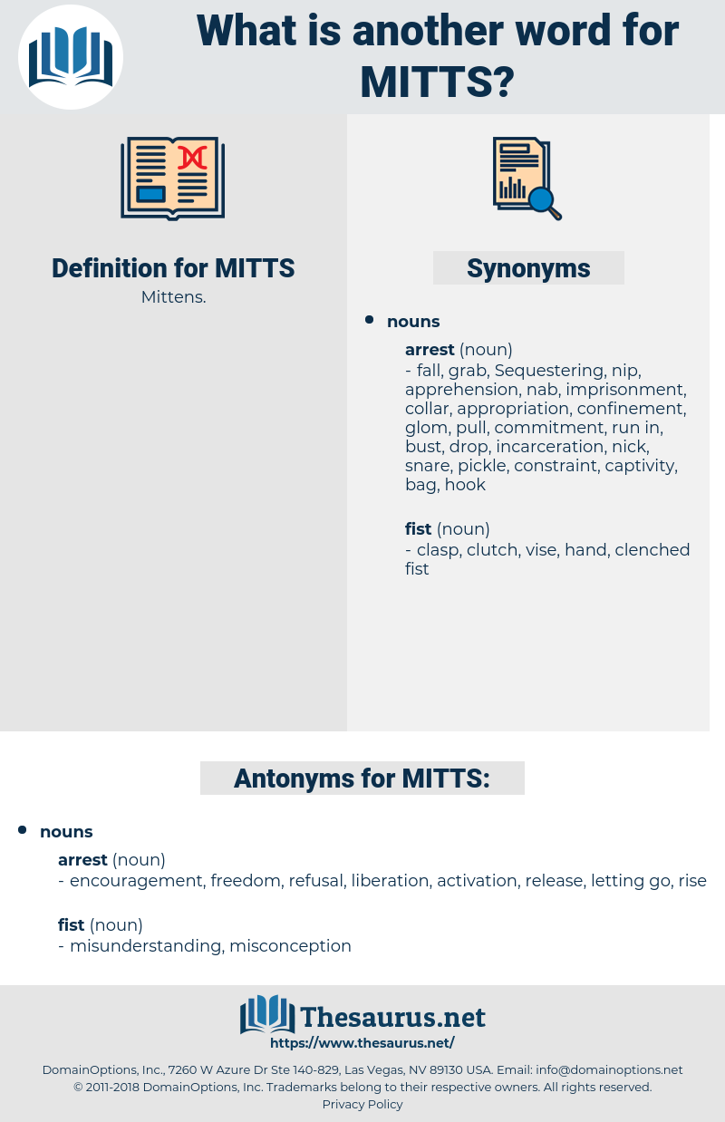 MITTS, synonym MITTS, another word for MITTS, words like MITTS, thesaurus MITTS