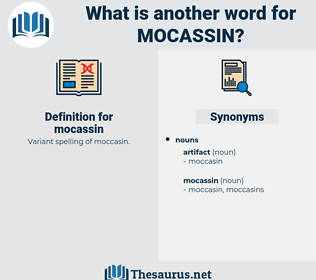 mocassin, synonym mocassin, another word for mocassin, words like mocassin, thesaurus mocassin