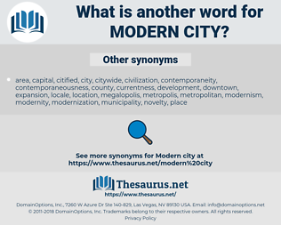 modern city, synonym modern city, another word for modern city, words like modern city, thesaurus modern city
