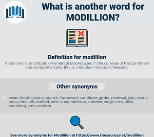 modillion, synonym modillion, another word for modillion, words like modillion, thesaurus modillion