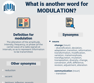 modulation, synonym modulation, another word for modulation, words like modulation, thesaurus modulation