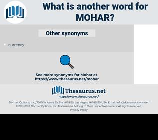 mohar, synonym mohar, another word for mohar, words like mohar, thesaurus mohar