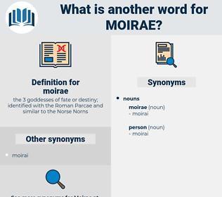 moirae, synonym moirae, another word for moirae, words like moirae, thesaurus moirae