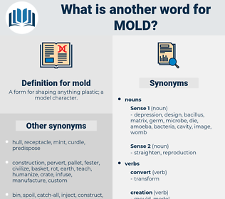 mold, synonym mold, another word for mold, words like mold, thesaurus mold