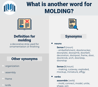 molding, synonym molding, another word for molding, words like molding, thesaurus molding