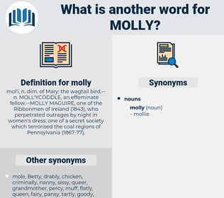 molly, synonym molly, another word for molly, words like molly, thesaurus molly