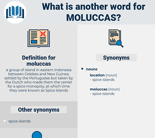 moluccas, synonym moluccas, another word for moluccas, words like moluccas, thesaurus moluccas