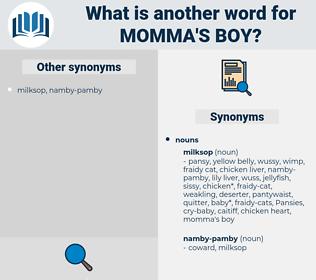 momma's boy, synonym momma's boy, another word for momma's boy, words like momma's boy, thesaurus momma's boy