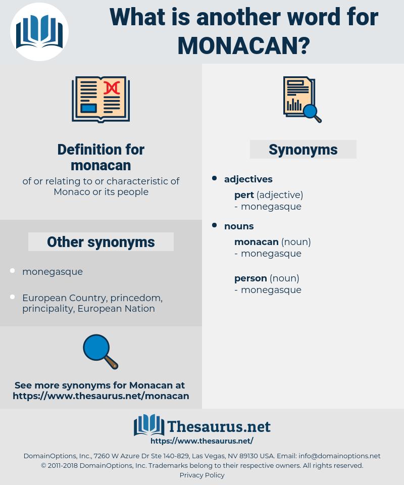 monacan, synonym monacan, another word for monacan, words like monacan, thesaurus monacan