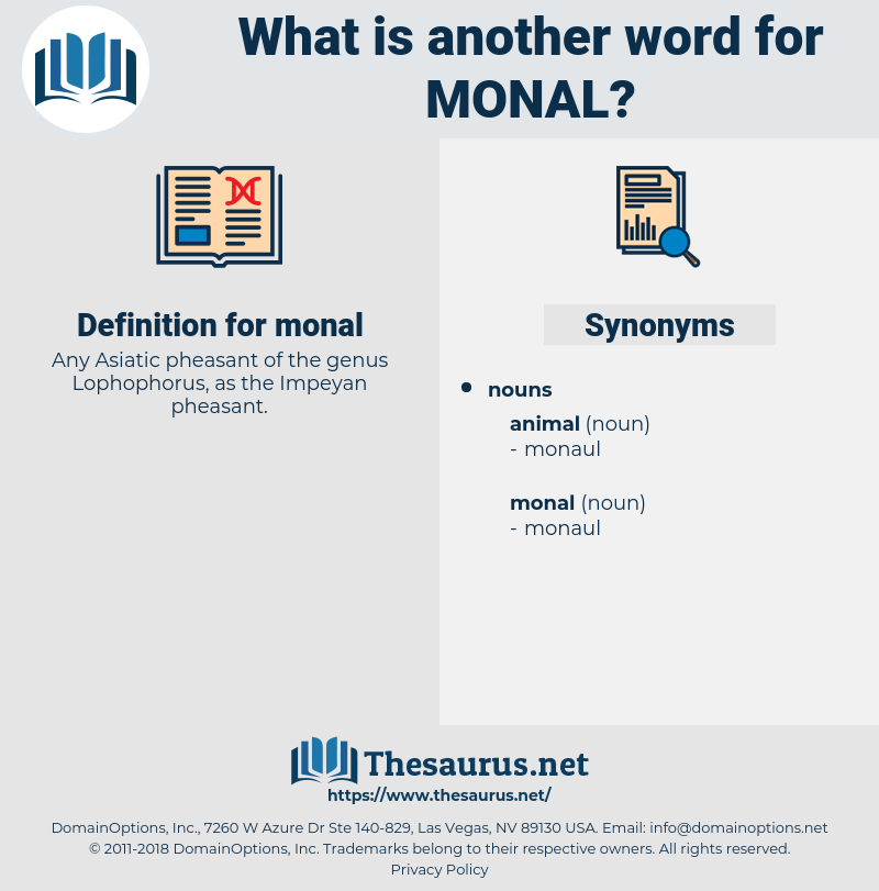 monal, synonym monal, another word for monal, words like monal, thesaurus monal