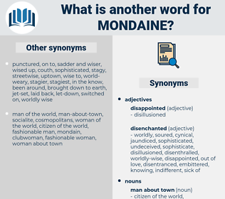mondaine, synonym mondaine, another word for mondaine, words like mondaine, thesaurus mondaine