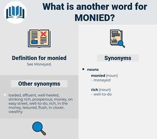 monied, synonym monied, another word for monied, words like monied, thesaurus monied
