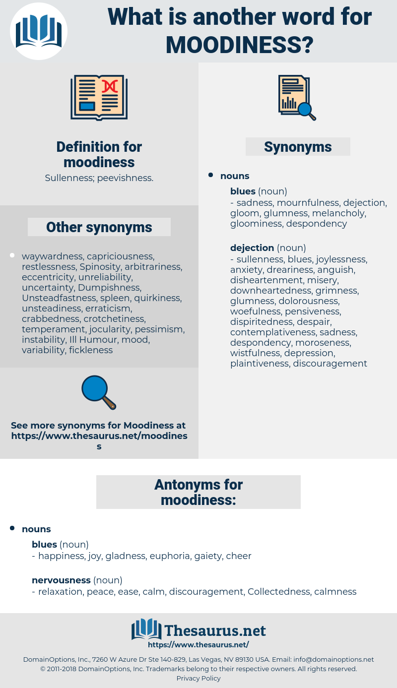 moodiness, synonym moodiness, another word for moodiness, words like moodiness, thesaurus moodiness