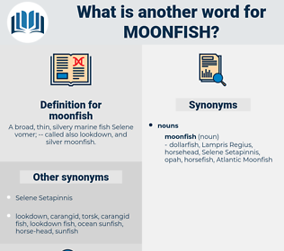 moonfish, synonym moonfish, another word for moonfish, words like moonfish, thesaurus moonfish