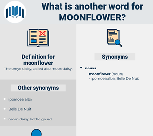moonflower, synonym moonflower, another word for moonflower, words like moonflower, thesaurus moonflower
