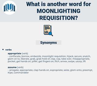 moonlighting requisition, synonym moonlighting requisition, another word for moonlighting requisition, words like moonlighting requisition, thesaurus moonlighting requisition