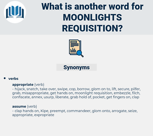 moonlights requisition, synonym moonlights requisition, another word for moonlights requisition, words like moonlights requisition, thesaurus moonlights requisition