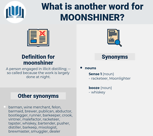 moonshiner, synonym moonshiner, another word for moonshiner, words like moonshiner, thesaurus moonshiner