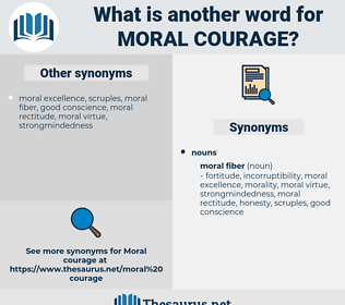 moral courage, synonym moral courage, another word for moral courage, words like moral courage, thesaurus moral courage