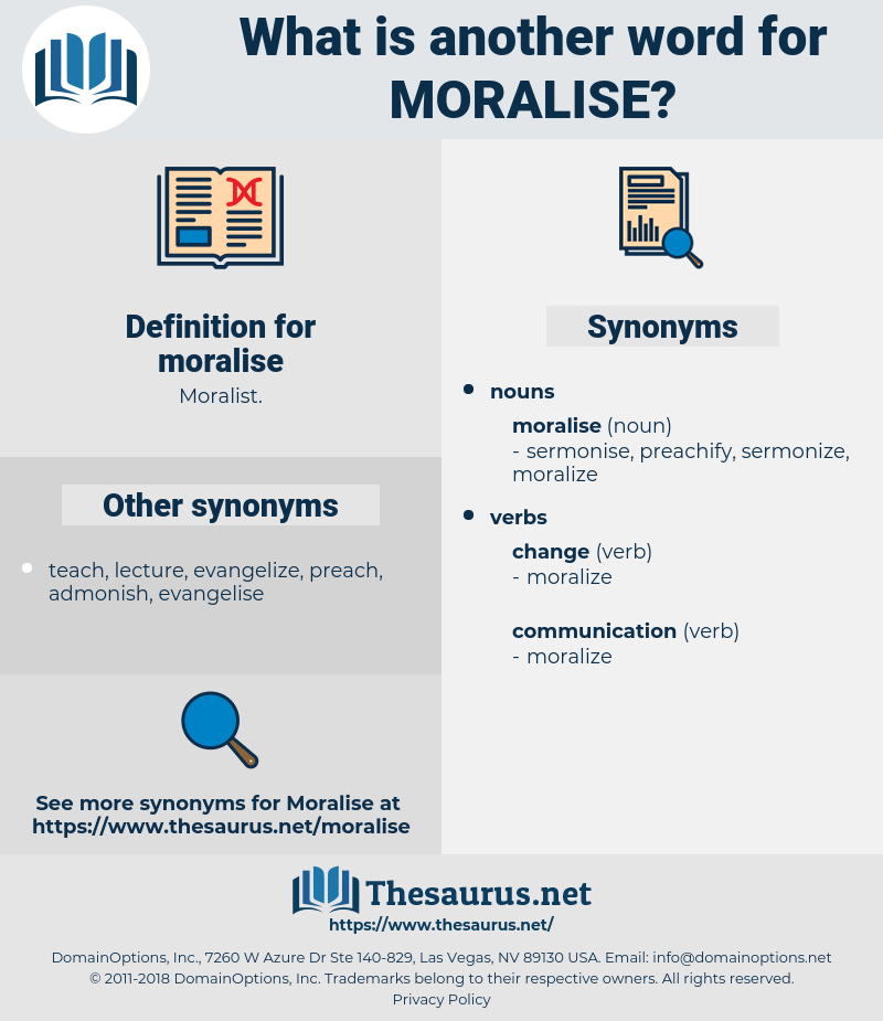 moralise, synonym moralise, another word for moralise, words like moralise, thesaurus moralise