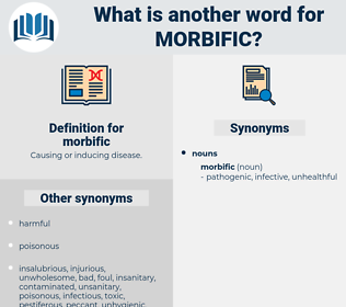 morbific, synonym morbific, another word for morbific, words like morbific, thesaurus morbific