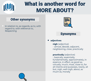 more about, synonym more about, another word for more about, words like more about, thesaurus more about