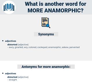 more anamorphic, synonym more anamorphic, another word for more anamorphic, words like more anamorphic, thesaurus more anamorphic