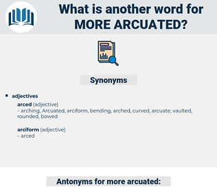more arcuated, synonym more arcuated, another word for more arcuated, words like more arcuated, thesaurus more arcuated