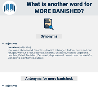 more banished, synonym more banished, another word for more banished, words like more banished, thesaurus more banished