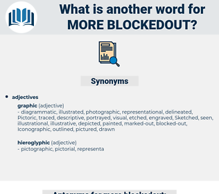 more blockedout, synonym more blockedout, another word for more blockedout, words like more blockedout, thesaurus more blockedout