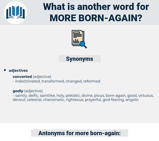 more born-again, synonym more born-again, another word for more born-again, words like more born-again, thesaurus more born-again