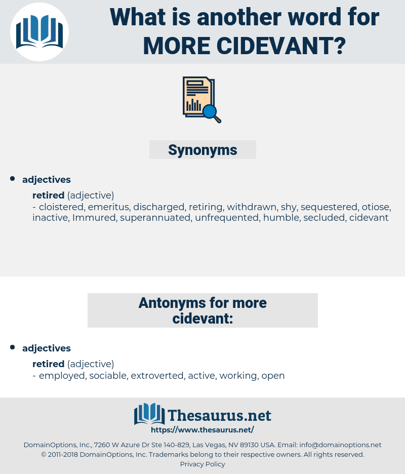 more cidevant, synonym more cidevant, another word for more cidevant, words like more cidevant, thesaurus more cidevant