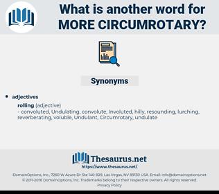 more circumrotary, synonym more circumrotary, another word for more circumrotary, words like more circumrotary, thesaurus more circumrotary