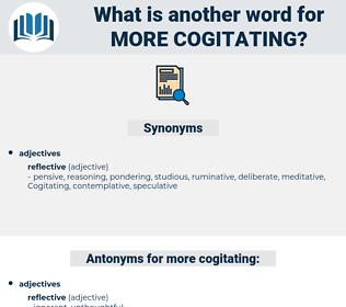more cogitating, synonym more cogitating, another word for more cogitating, words like more cogitating, thesaurus more cogitating