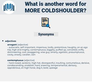 more coldshoulder, synonym more coldshoulder, another word for more coldshoulder, words like more coldshoulder, thesaurus more coldshoulder
