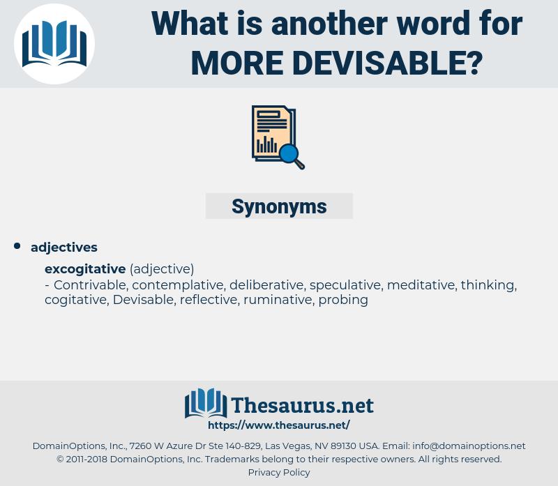 more devisable, synonym more devisable, another word for more devisable, words like more devisable, thesaurus more devisable
