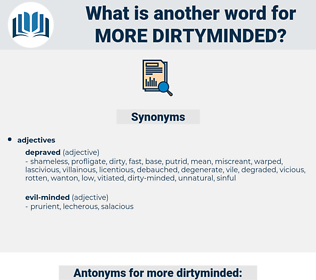 more dirtyminded, synonym more dirtyminded, another word for more dirtyminded, words like more dirtyminded, thesaurus more dirtyminded