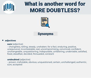 more doubtless, synonym more doubtless, another word for more doubtless, words like more doubtless, thesaurus more doubtless
