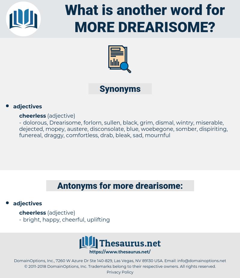 more drearisome, synonym more drearisome, another word for more drearisome, words like more drearisome, thesaurus more drearisome