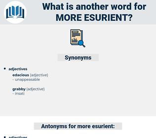 more esurient, synonym more esurient, another word for more esurient, words like more esurient, thesaurus more esurient