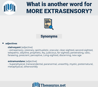more extrasensory, synonym more extrasensory, another word for more extrasensory, words like more extrasensory, thesaurus more extrasensory