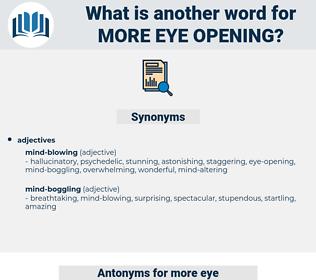 more eye-opening, synonym more eye-opening, another word for more eye-opening, words like more eye-opening, thesaurus more eye-opening