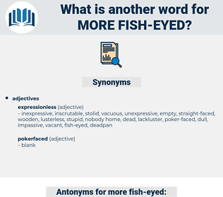 more fish eyed, synonym more fish eyed, another word for more fish eyed, words like more fish eyed, thesaurus more fish eyed