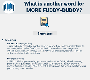 more fuddy-duddy, synonym more fuddy-duddy, another word for more fuddy-duddy, words like more fuddy-duddy, thesaurus more fuddy-duddy