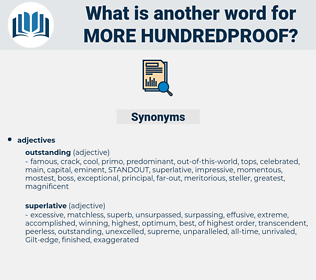 more hundredproof, synonym more hundredproof, another word for more hundredproof, words like more hundredproof, thesaurus more hundredproof