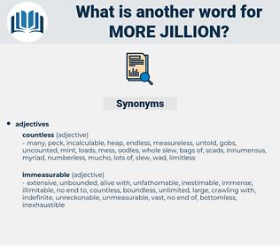 more jillion, synonym more jillion, another word for more jillion, words like more jillion, thesaurus more jillion
