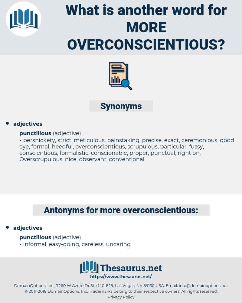 more overconscientious, synonym more overconscientious, another word for more overconscientious, words like more overconscientious, thesaurus more overconscientious