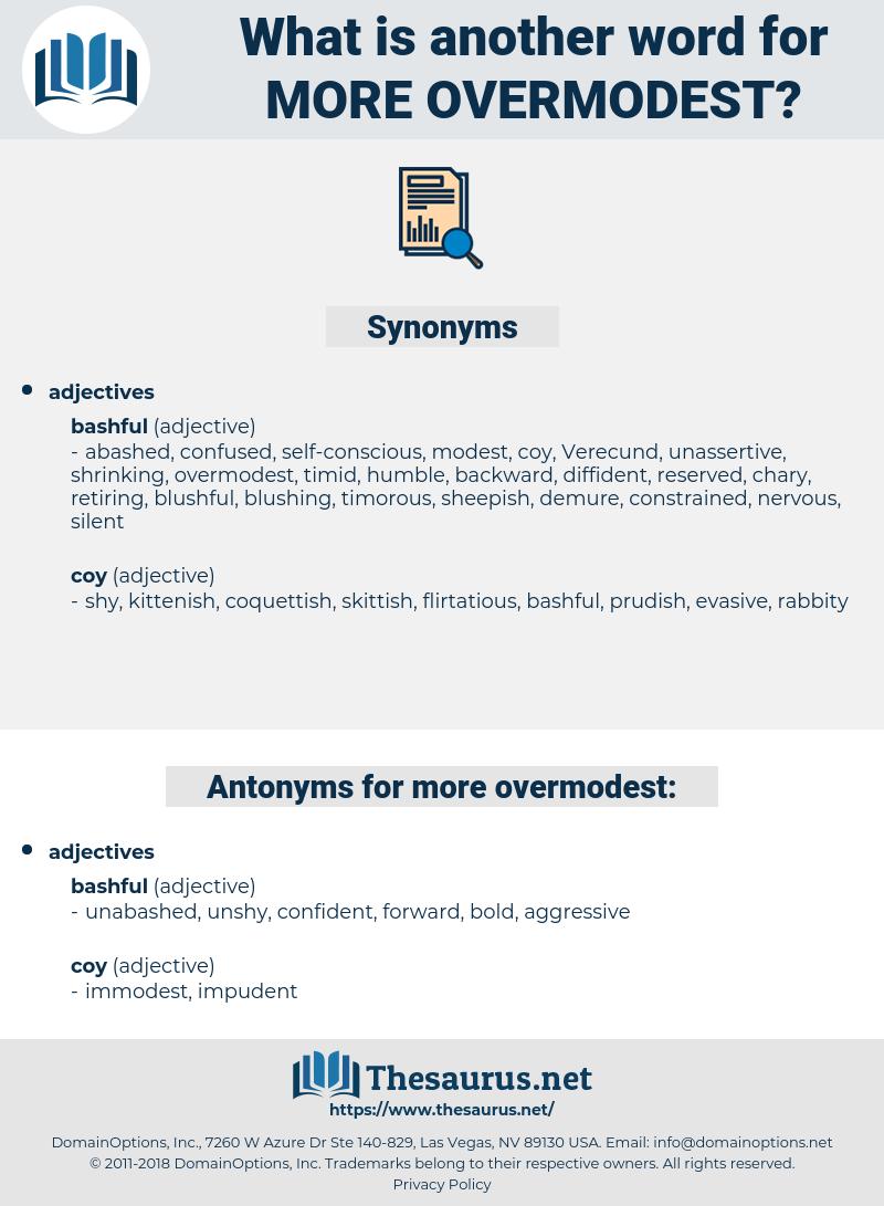 more overmodest, synonym more overmodest, another word for more overmodest, words like more overmodest, thesaurus more overmodest