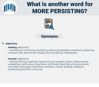 more persisting, synonym more persisting, another word for more persisting, words like more persisting, thesaurus more persisting