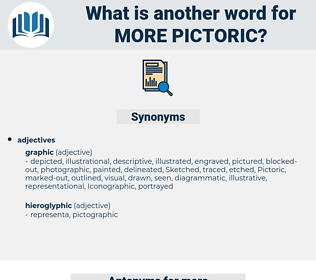 more pictoric, synonym more pictoric, another word for more pictoric, words like more pictoric, thesaurus more pictoric